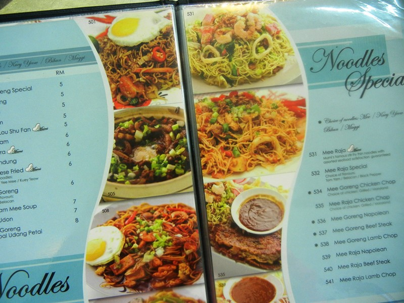 Opens 24 hours a day murni ss2 mamak redefined for Amans indian cuisine menu