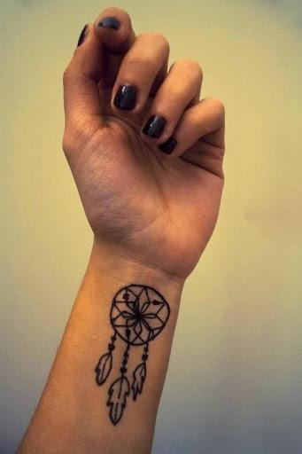 Tatuagens Pequenas no Braço Filtro dos Sonhos