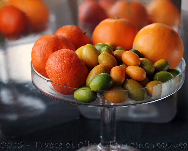 marmellata, mandarini, kumquat