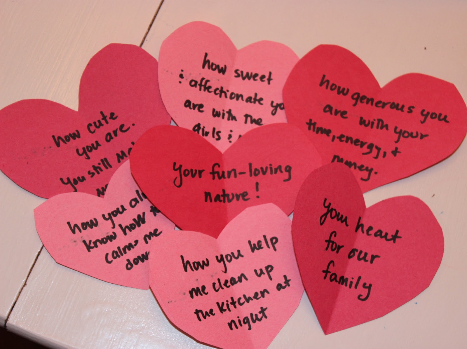 a fun way to show him you love him create a love letter scavenger hunt