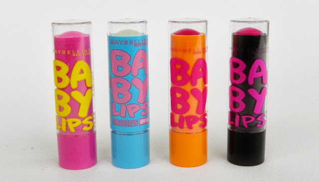 maybelline baby lips lip balm review swatch pink punch quenched cherry me pink shock