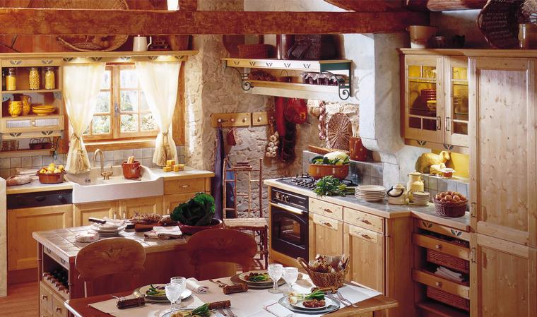 Kitchen design country kitchen design ideas for Country style kitchen b q