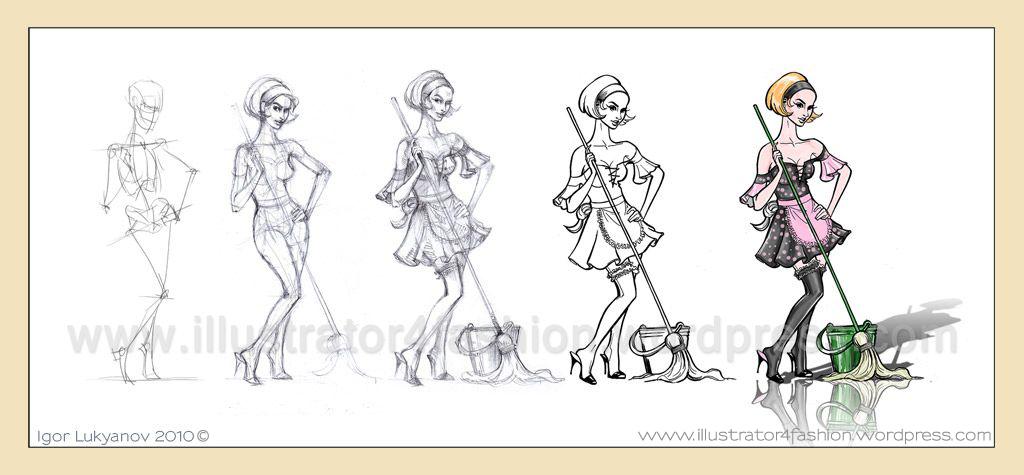 Mes dessins et croquis de mode - Dessin couture ...