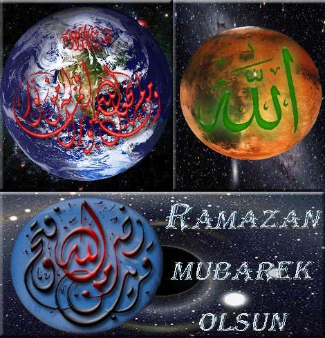 Čestitka za Ramazan Allahov Svemir