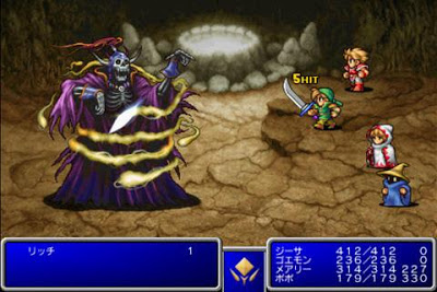 Final Fantasy en los dispositivos android