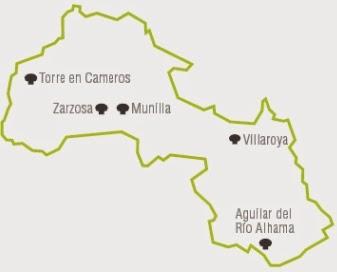 Mapa micológico de la Reserva de la Biosfera de La Rioja