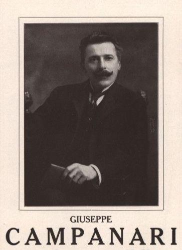 ITALIAN BARITONE GIUSEPPE CAMPANARI (1855-1927) CD