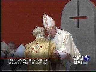 Upside Down Cross Pope