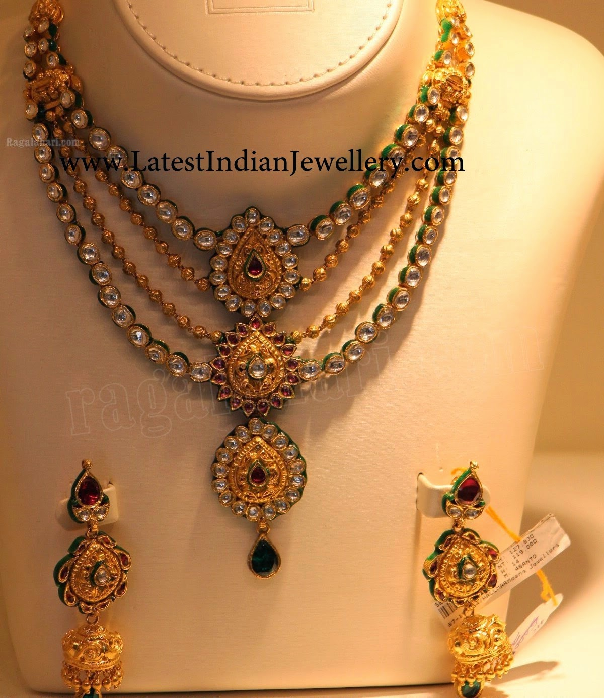 Multi Step Kundan Bridal Jewellery Set