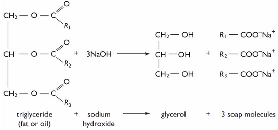 Fat Saponification Process