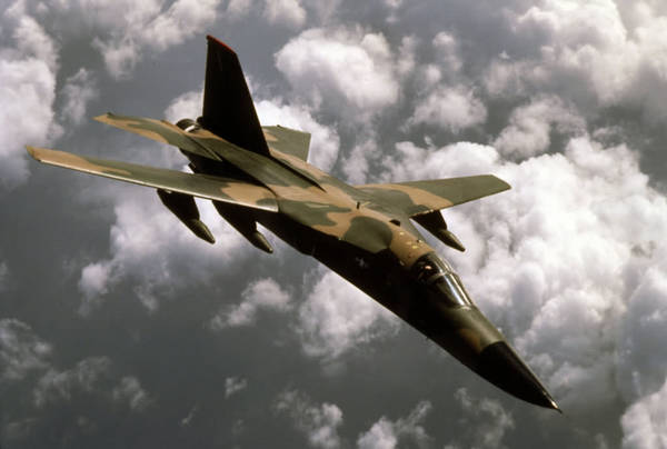 F-111 Aardvark Strategic Bomber Jet