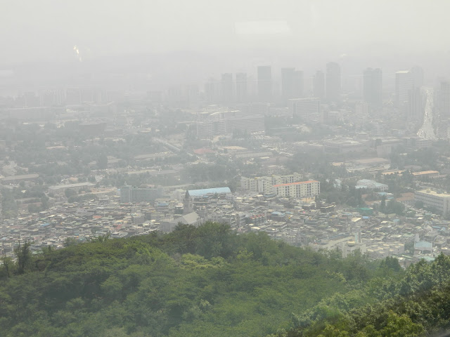 Seoul from the N Seoul Tower