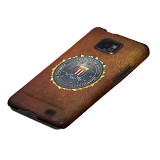 Samsung Galaxy with FBI emblem, Samsung Galaxy S4, BlackBerry