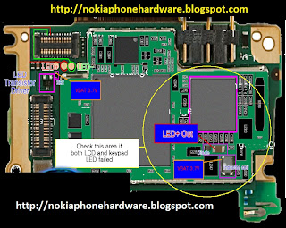 Nokia Phone Hardware: Nokia X3 Display Light Problem Solution