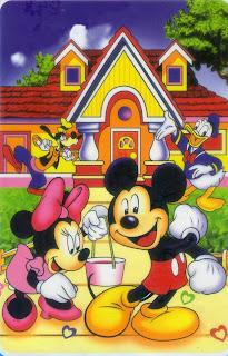 Jual Selimut Rosanna Soft Panel Blanket Mickey Rumah