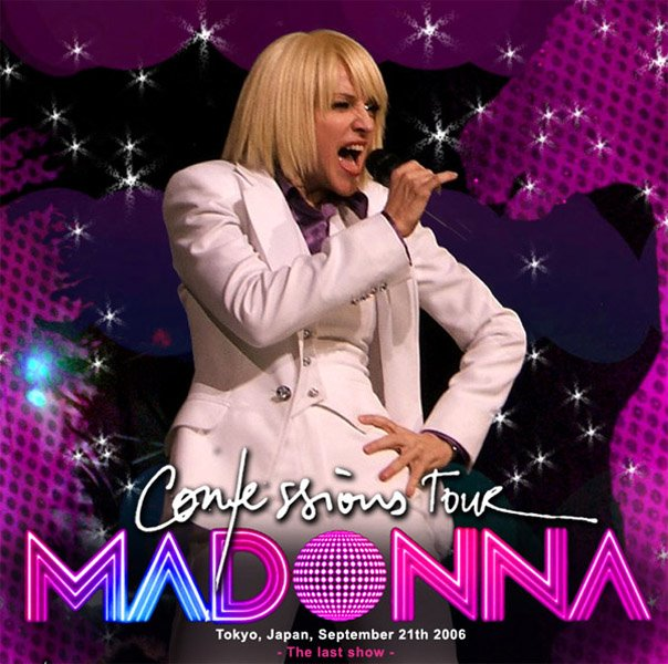 The confessions tour (cd   dvd) by Madonna, CD x 2 with highway61 ...