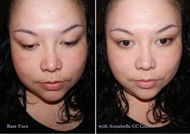 Annabelle CC Colour Control Instant Perfecting Base Natural Finish