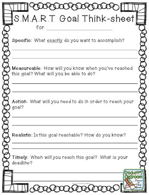 Instead of New Year's resolutions, show your students how to set S.M.A.R.T. goals.