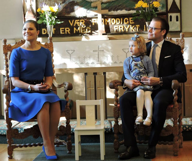 Crown Princess Victoria and Prince Daniel of Sweden, in their first Silicon Valley