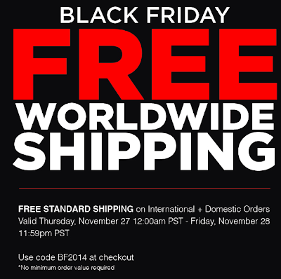Sigma Black Friday Coupon Code 2014