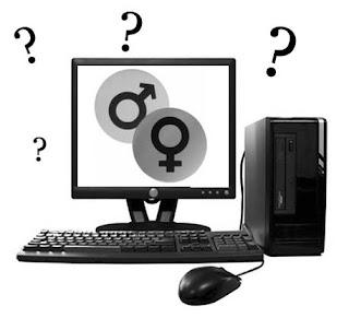 cara mengetahui kelamin komputer