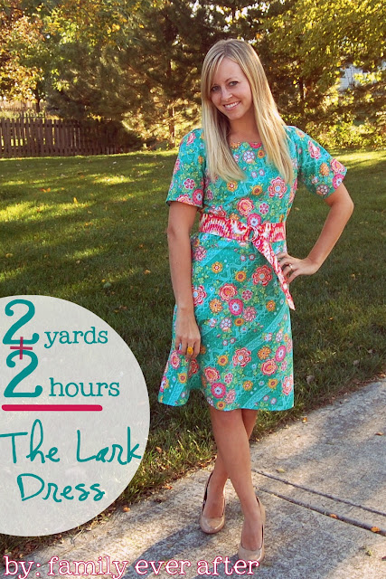 2 Yard 2 Hour Dress Tutorial