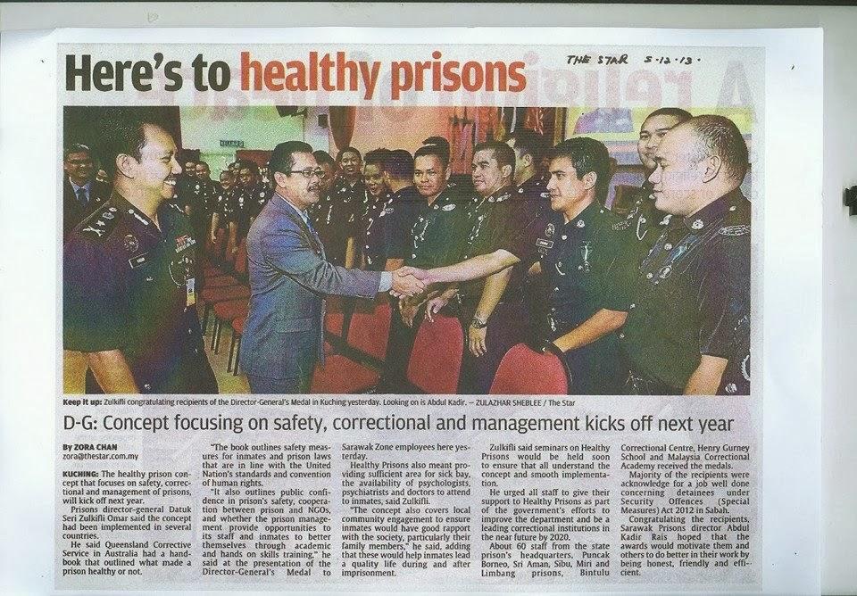Penjara sejahtera, banduan dan anggota, Jabatan Penjara Malaysia