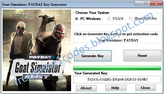 payday 2  activation key