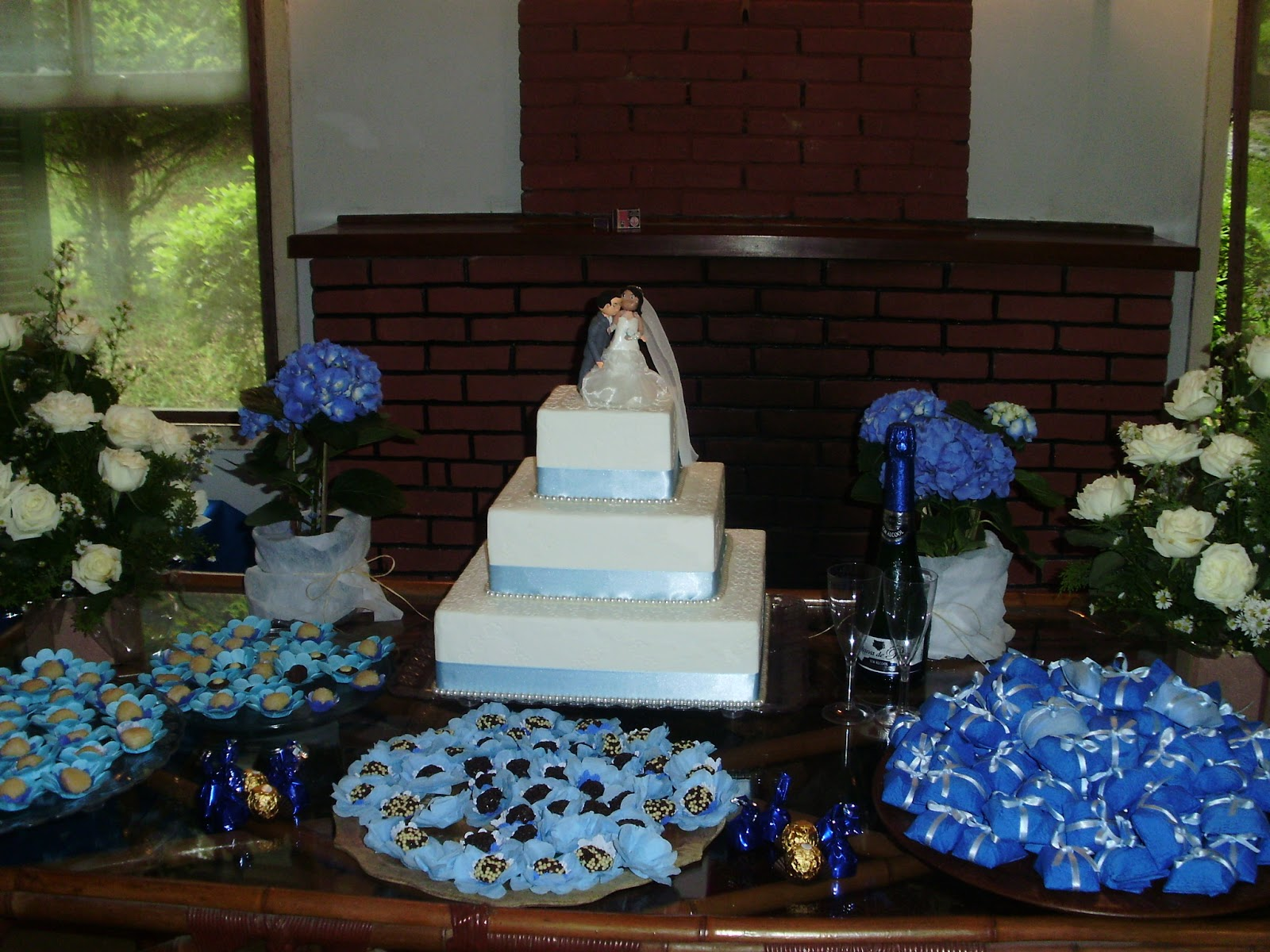 Day Artes Criativa Decoração de mesa para casamento