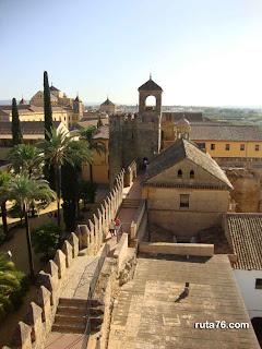 Alcazar de los Reyes Cristianos cordoba andalucia
