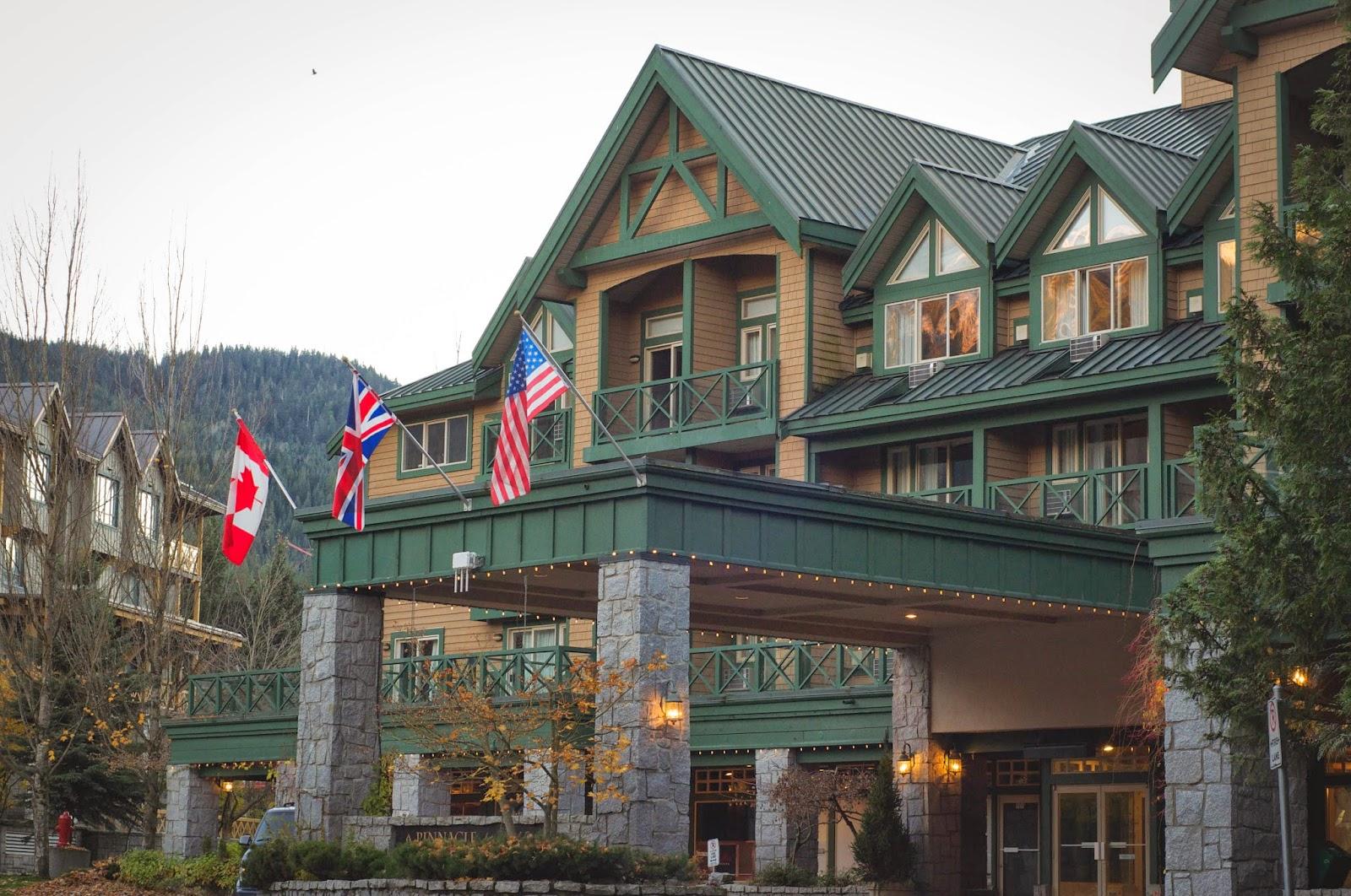Отель в Вистлере