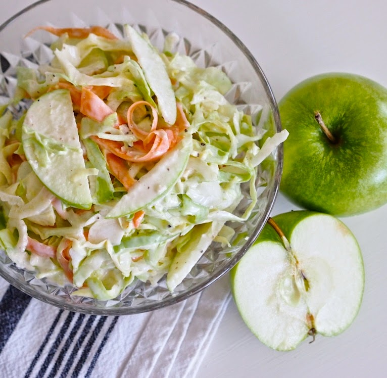 Green Apple Cole Slaw