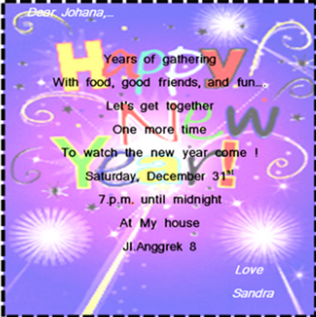 Darwati bogor 30 desember 1995 soal bahasa inggris kelas 11 30 what is the party for stopboris Images