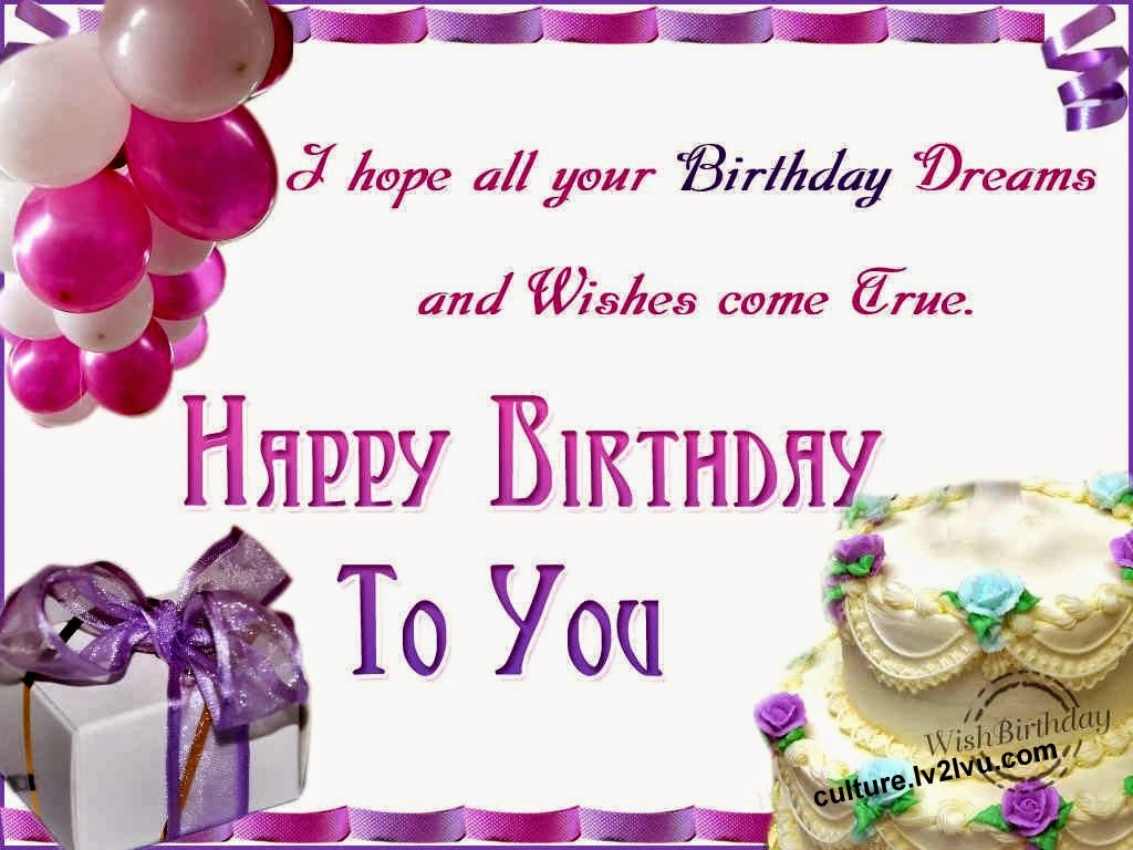 Birthday wishes wallpaper
