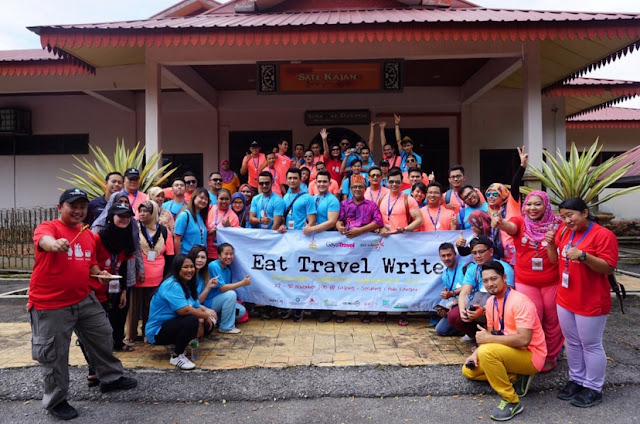 EAT TRAVEL WRITE 2.0 ANJURAN GAYA TRAVEL SANGAT MERIAH