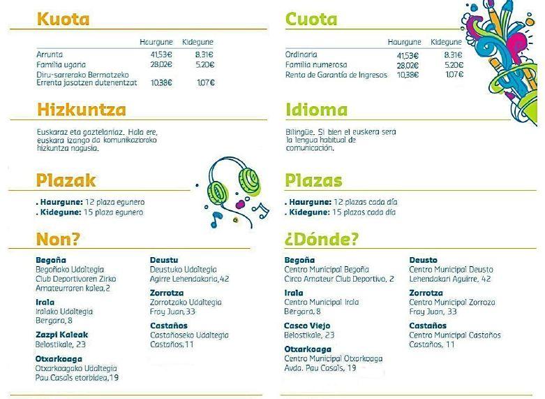 Ba l de navidad abierto kidegune bilbao 2013 for Horario oficina correos bilbao
