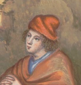 la maggior parte della gente rimangono comunque i cappucci per gli  uomini, nastri e decorazioni per le acconciature delle donne o i cappelli  di paglia.
