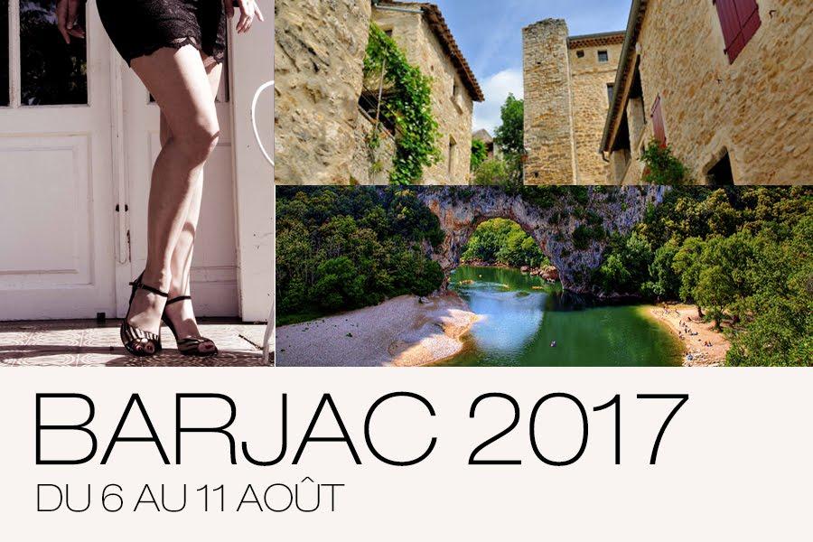 Stage d'été de tango à Barjac (Gard) - du 6 au 11 août 2017