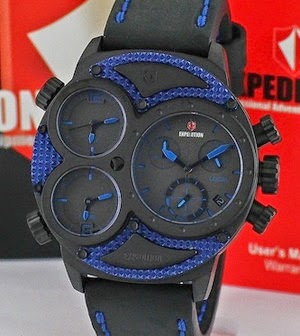 Jam Tangan Expedition E6619 MT biru