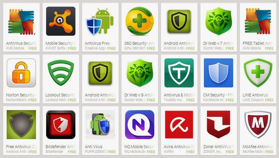 Download Aplikasi Antivirus Android Terbaik Gratis Paling Ampuh