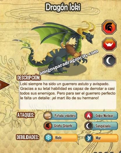 imagen del dragon loki y sus caracteristicas