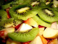 salada de frutas nutritiva