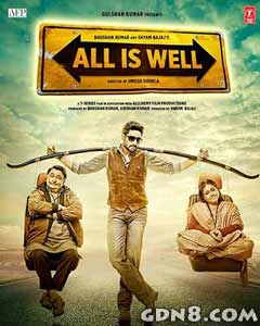 All Is Well 2015 Hindi Movie Poster