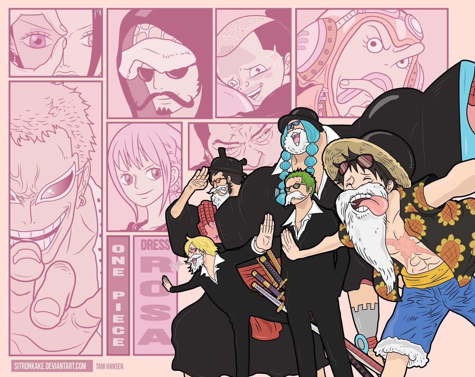 One Piece Chapter 729: Thất Vũ Hải Doflamingo vs. Thất Vũ Hải Law 017