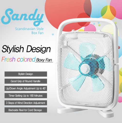 Sandy Box Fan