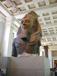 THE COLOSSAL BUST OF RAMESSES II