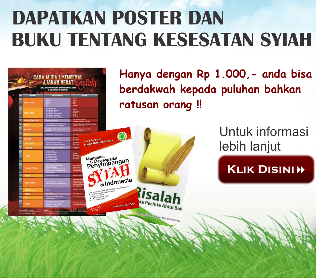 Buku Kesesatan Syiah