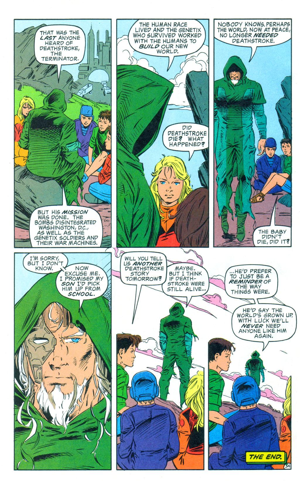 Deathstroke (1991) Annual 3 #3 - English 55