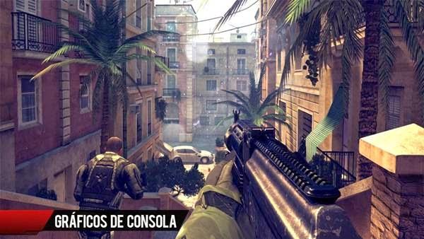 Descargar Modern Combat 4 Zero Hour -v1.1.6 (apk+Datos SD) (mega