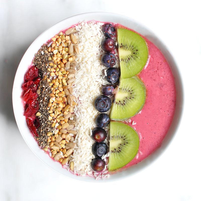 Acai Protein Power Breakfast Bowl